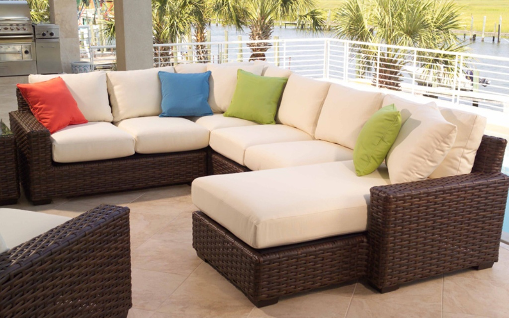 How to clean patio furniture cushions?