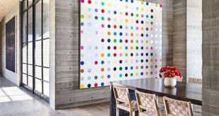 Fashionable large wall art in room decor abstract modern contemporary colorful efpawab