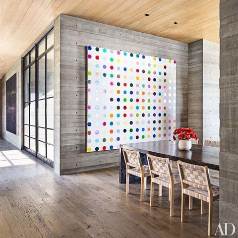 How large wall art decorates your room