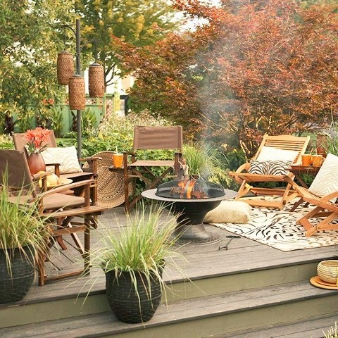 Gorgeous patio decor during fall your patio would look cozy no matter what especially if you whjqvqi