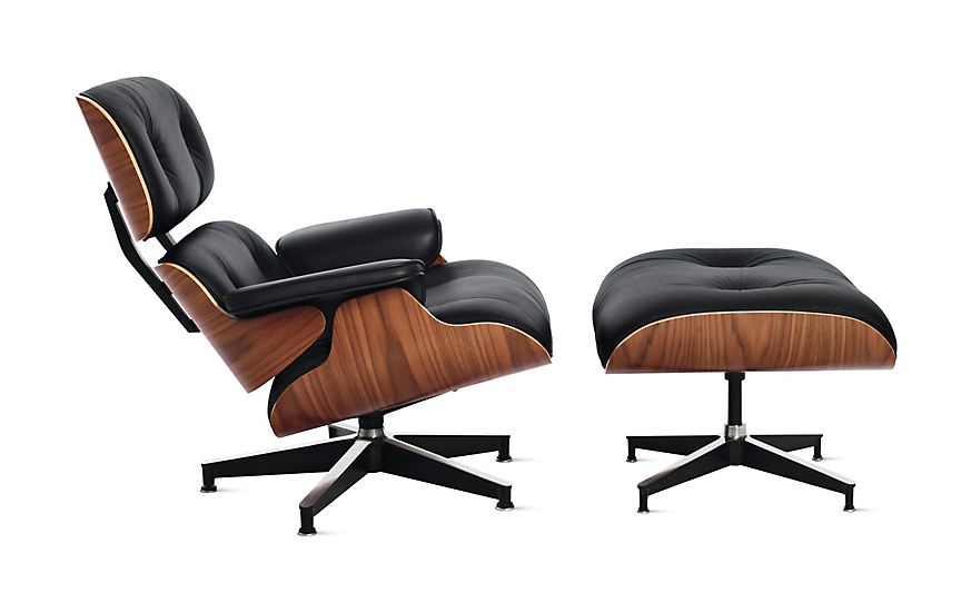 Great eames® lounge chair and ottoman huflwic