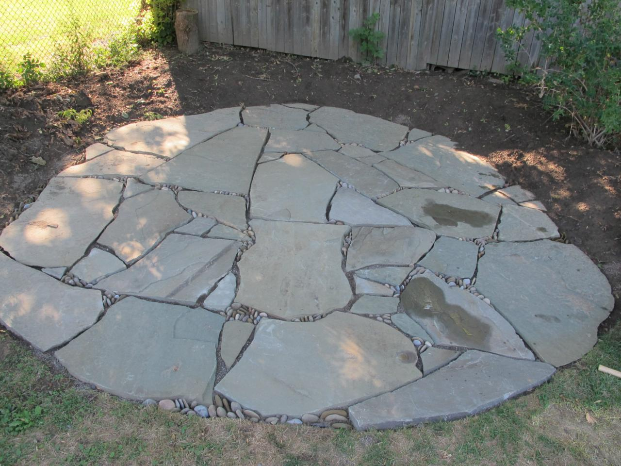Great flagstone patio related to: flagstone outdoor spaces patios stone installing izyldmc