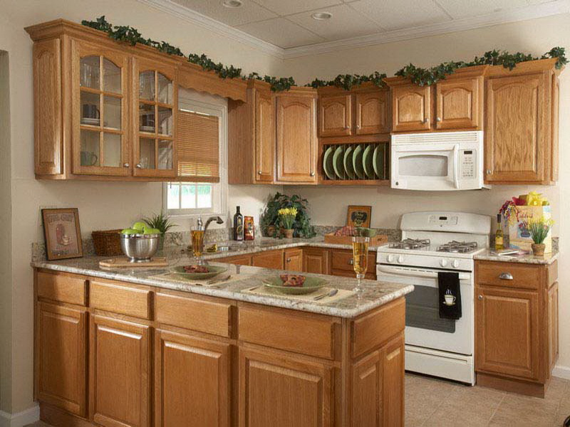 Great image of: kitchen decorating ideas for above cabinets zrgzruf