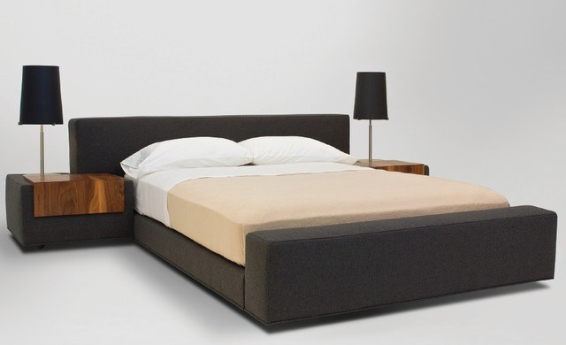 Great modern beds cloth gray colored bed inczeqv