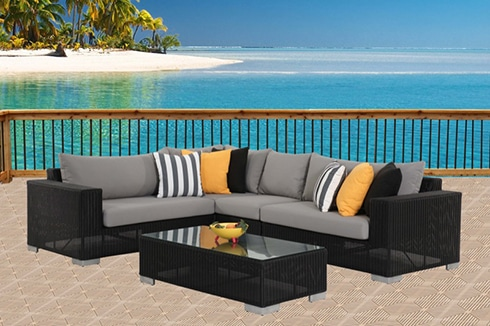 Great outdoor furniture perth savana 5pc modular package xbyqagt