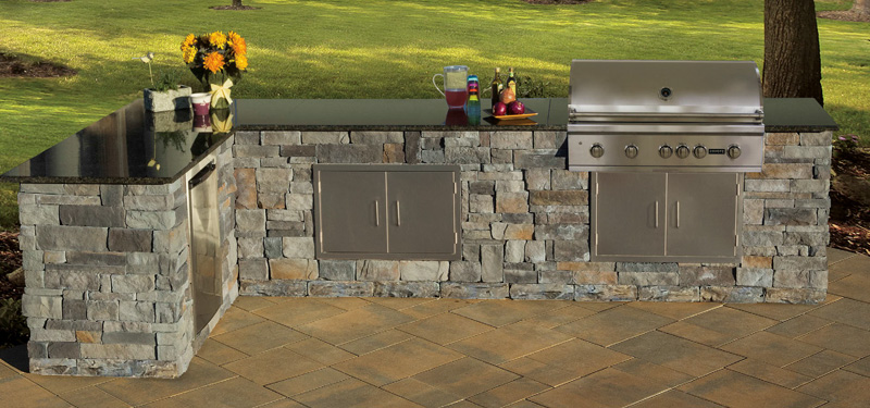 Great outdoor kitchen kits cambridge fully assembled outdoor kitchen boyxssk
