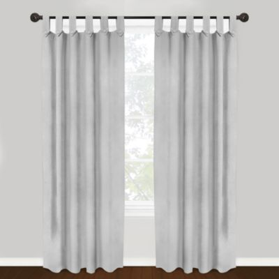 Great tab top curtains park b. smith vintage house brighton tab top 84-inch window curtain panel in lomkbbr