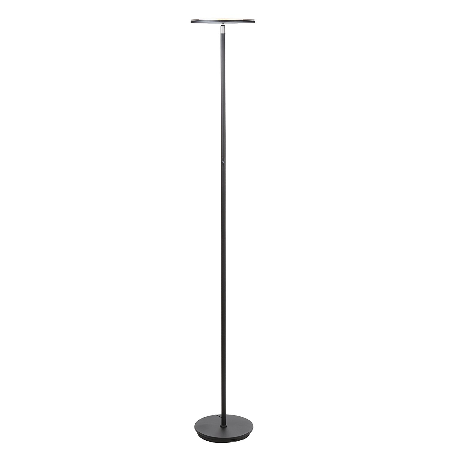 Great tall lamps brightech sky led torchiere floor lamp - energy saving, dimmable adjustable  lamp, hiqsufr