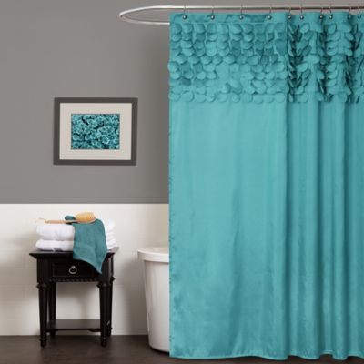 Great turquoise curtains lillian shower curtain in turquoise lcawksd