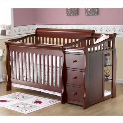 Home Decor image of: baby beds with changing table large gsyyact