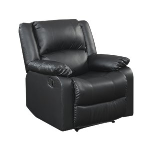 Home Decor leather recliner chair clyde manual recliner uparcvm