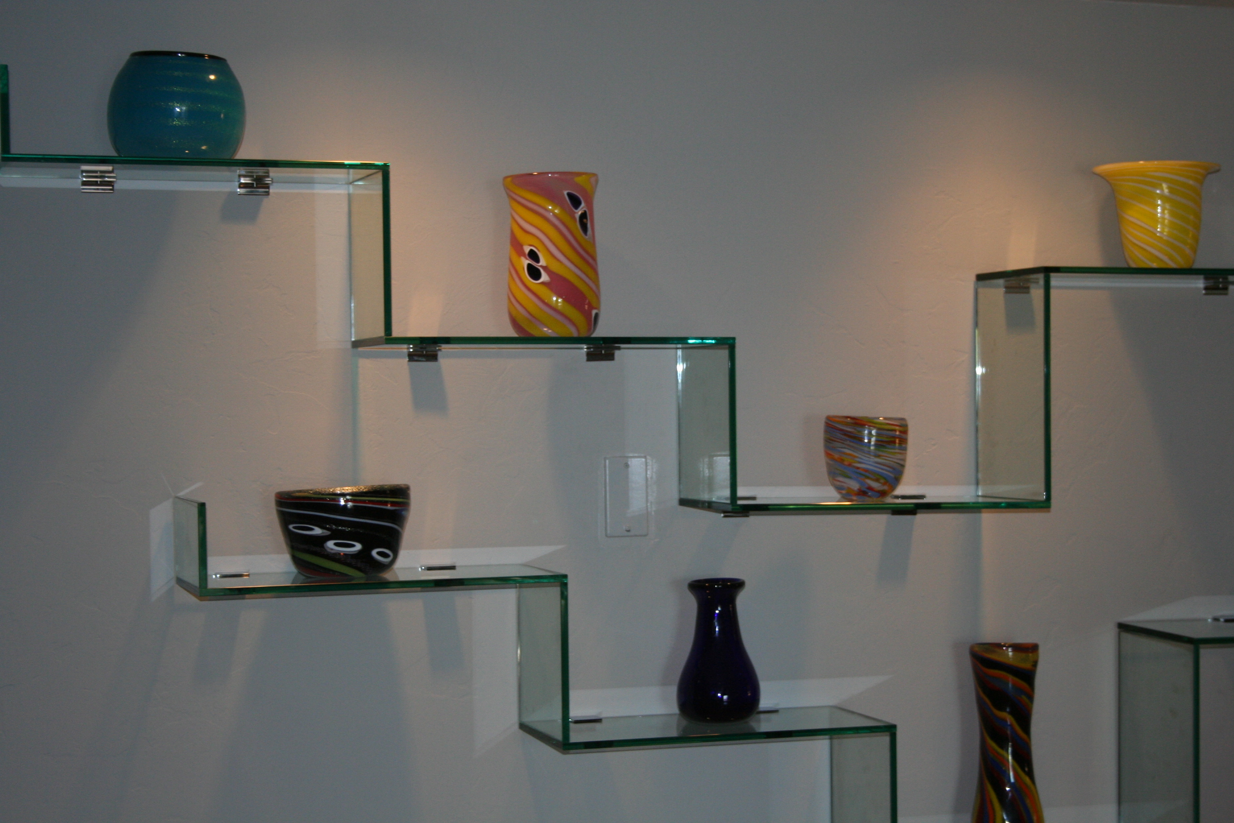 Ideas of fresh modern glass shelves wall mounted 83 about remodel kitchen shelving  units dwhmego