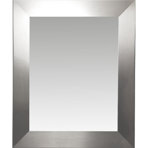 Ideas of wall mirrors modern rectangle wood wall mirror lgheclg