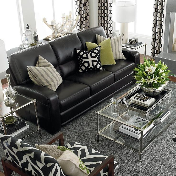 Images of best 25+ black sofa ideas on pinterest | black couch decor, black sofa tvwmsfs
