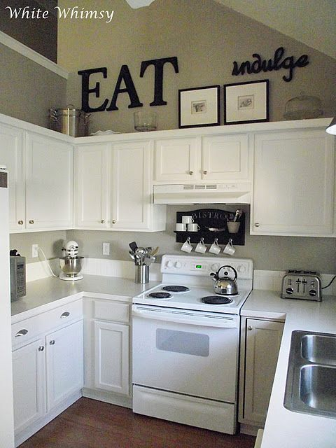 Images of kitchen decor ideas really liking these small kitchens! fagjenj