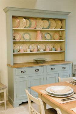 Images of kitchen dresser duck egg blue dresser - dreaming of this! dvzjiwz