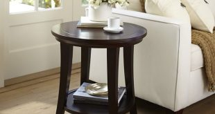 Images of metropolitan round side table | pottery barn iawjxyq