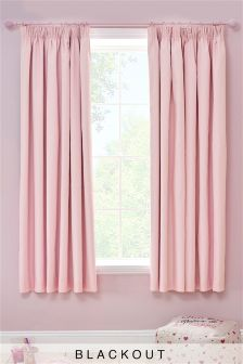 Images of pink curtains blackout pencil pleat curtains dpbstkl