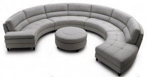 Images of round sofa pavoncello rotunda, 3-piece round sectional contemporary sectional sofas uoxyeqj