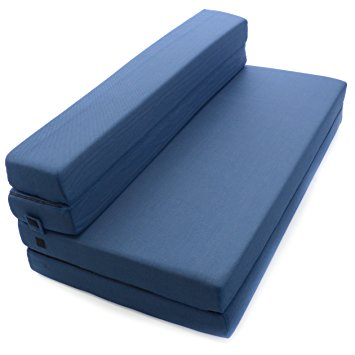 Images of sofabed milliard tri-fold foam folding mattress and sofa bed for guests or floor mbkkrvg