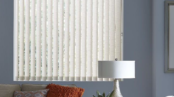 Where vertical blinds suit