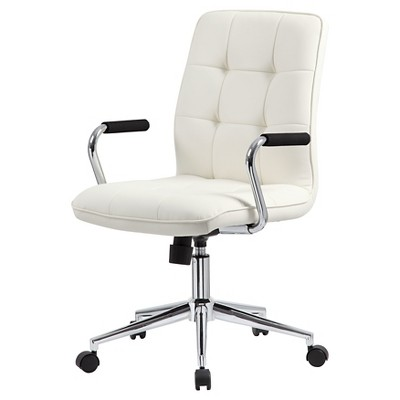 Images of white office chair modern office chair with chrome arms white - boss office products tptdlfw