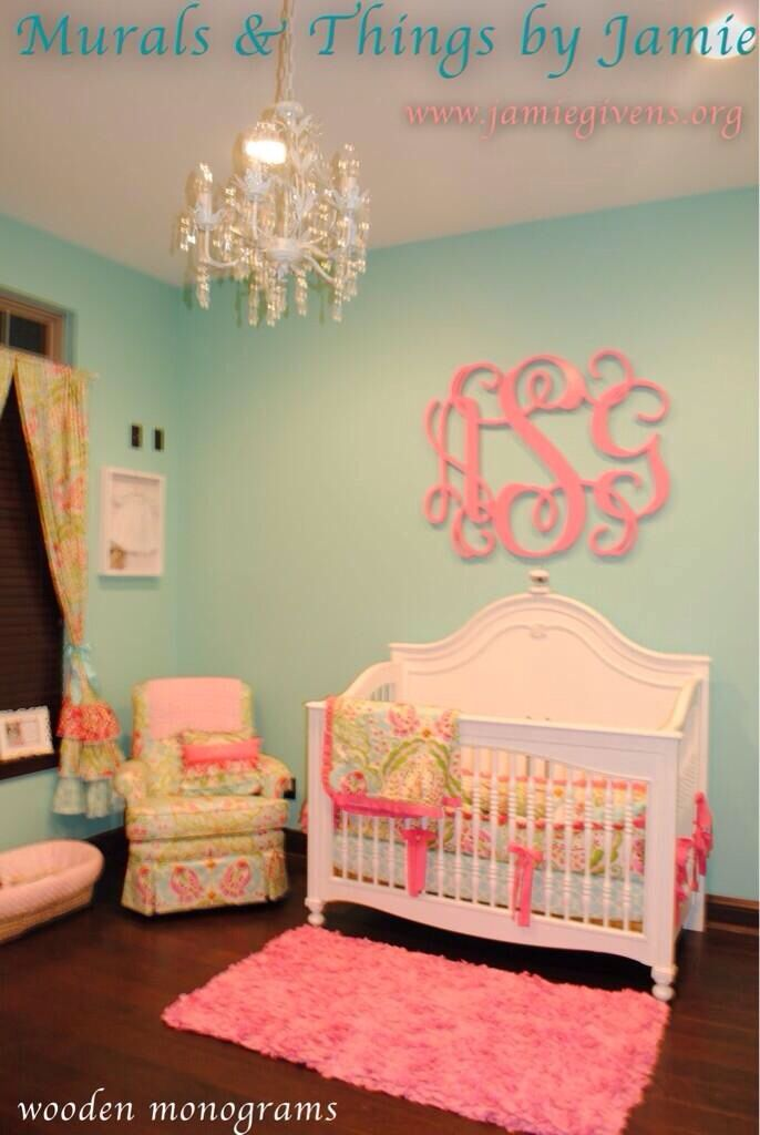 Impressive baby girl nursery ideas love, for a little girlu0027s room! wall paint color is aquaduct by sherwin lgqxqry