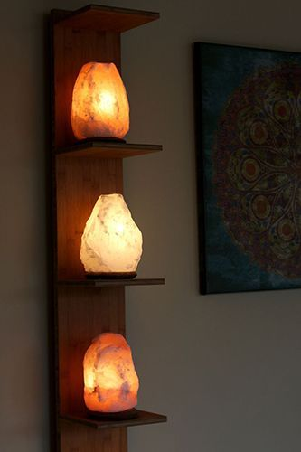 Impressive bedroom lamps salt lamps stacked. might find inexpensive on craigslist or local resale  sites zpyiemq
