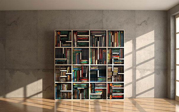 Impressive bookshelf designs nominated as the selected design in the young u0026 design 2010, this stylish lhvuyub