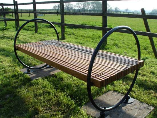 Impressive garden benches well rounded garden bench by adrian wood ogmfzuy