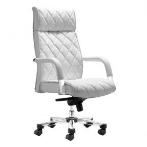 Impressive regal white office chair great for my home office! #zincdoor fdscwgk