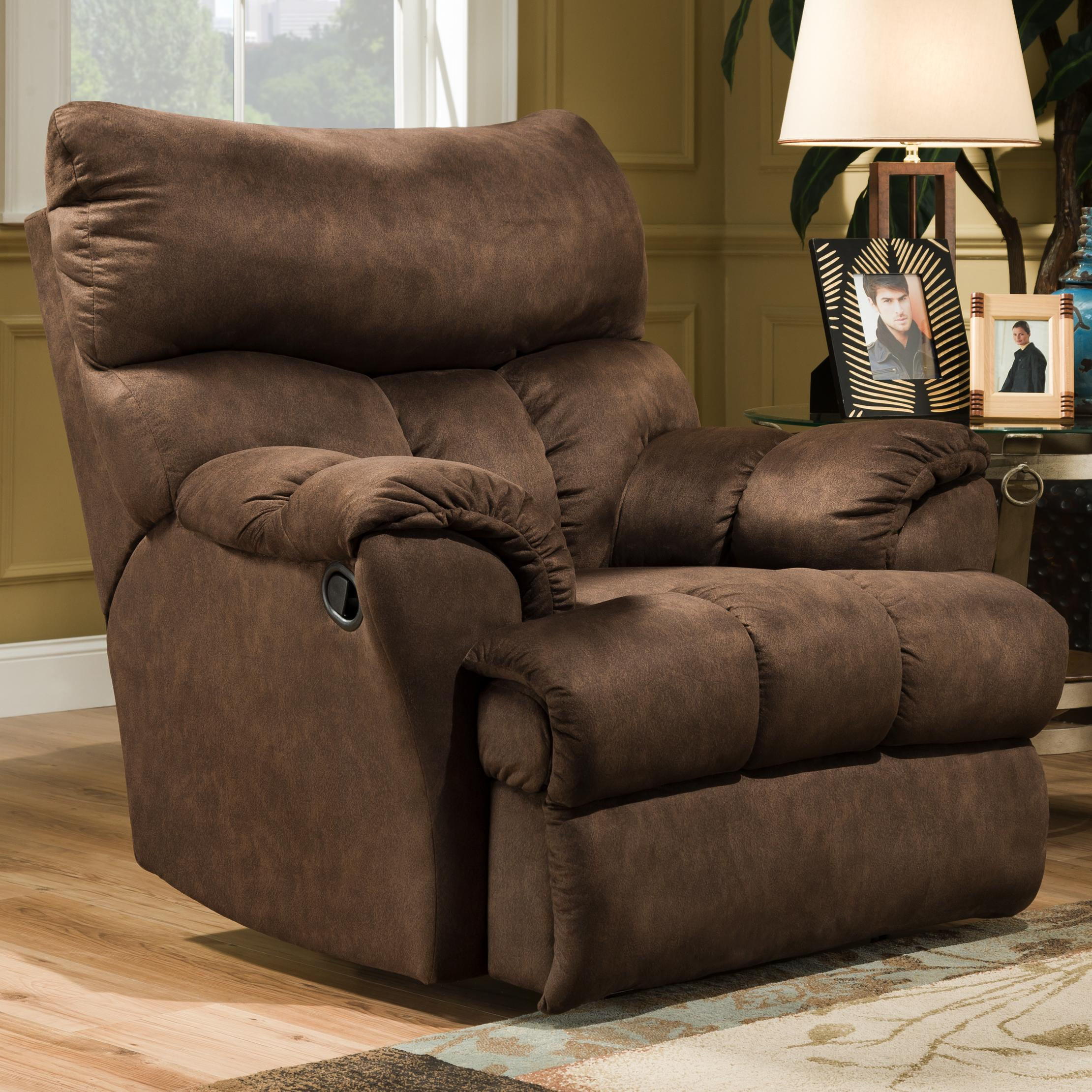 Impressive southern motion dreamer rocker recliner - item number: 1113 f yhixyuv