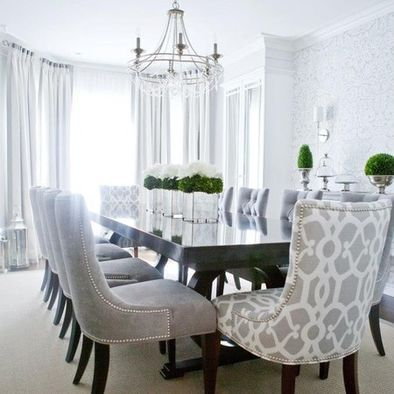Impressive upholstered dining room chairs comfy dining room chairs //  tqugpdg