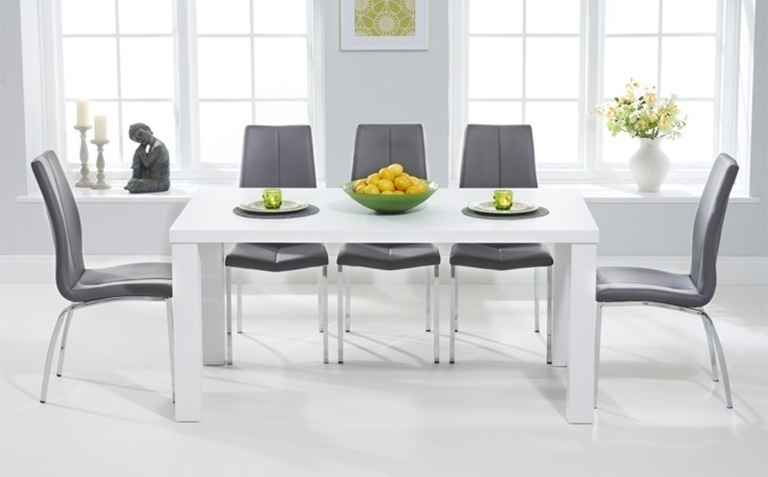 Impressive white dining table fancy dining table and chairs white matt sets.jpg chair full version ... pzozgmk