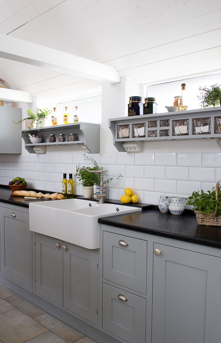 Inspiration 40 romantic and welcoming grey kitchens for your home klqgmyy
