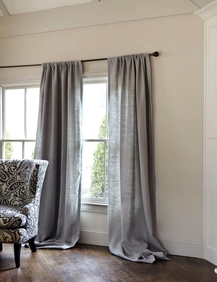 Inspiration gray curtains gray linen curtains zlydsqm