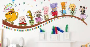 Inspiration wall stickers for kids rain wall stickers decor modern inypaiv