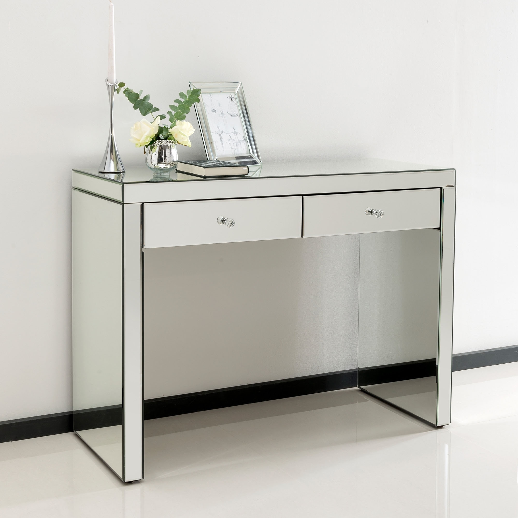 Interior full size of makeup storage:hooker furniture mirrored console table  sanctuary four door kzolphm