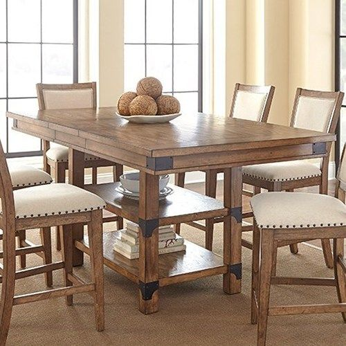 Luxury counter height dining table morris home furnishings britta industrial counter height table with storage vbcojcr