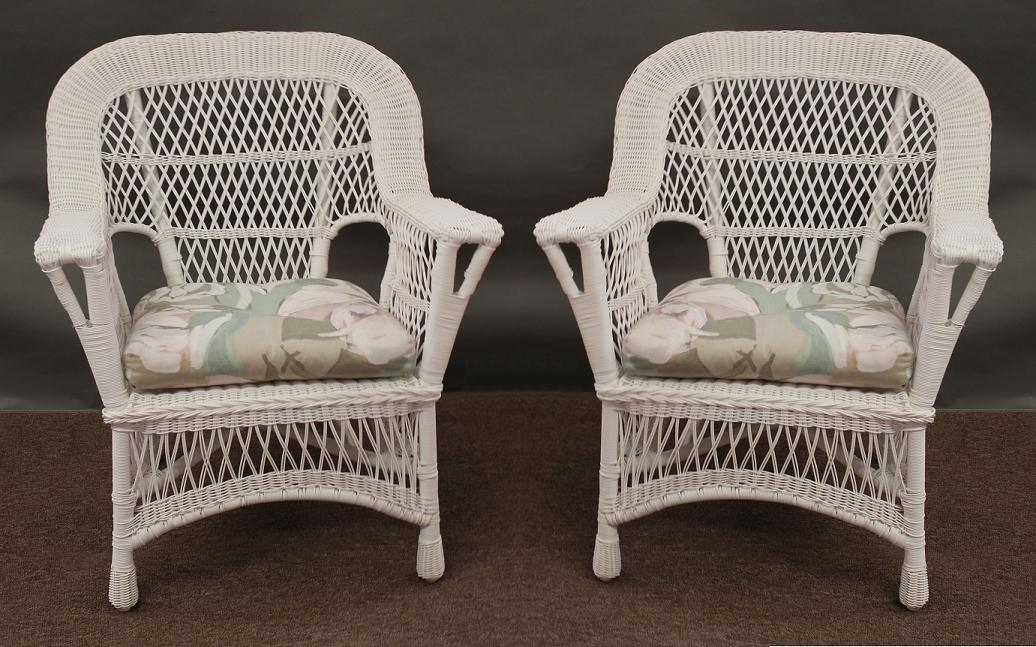 Luxury mackinac all weather wicker chairs - set of 2 1 ghwzncy