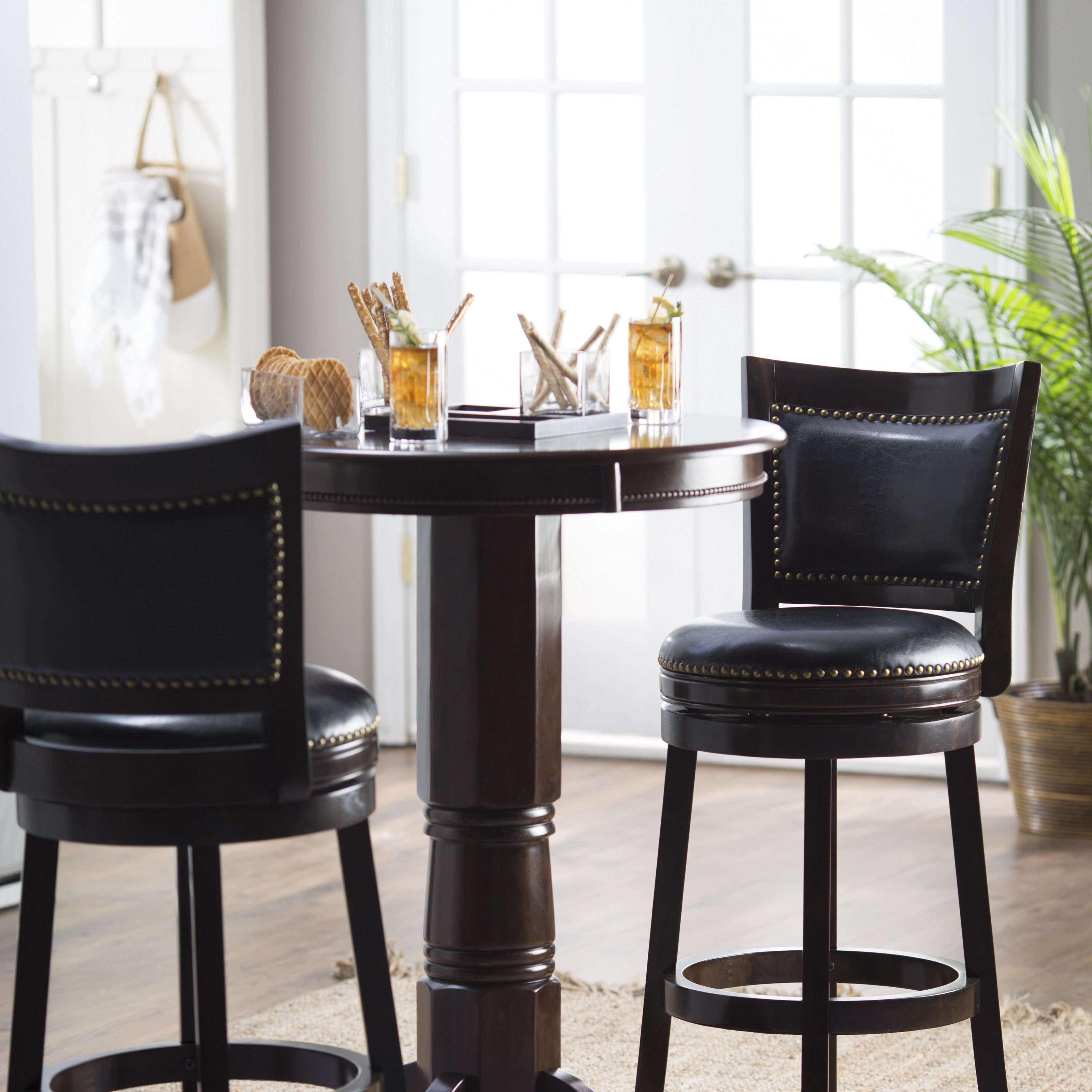 Luxury pub table and chairs finley home milano pub table | hayneedle eaeuirx