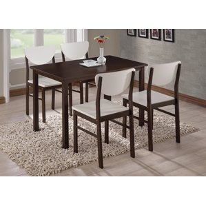 Luxury small dining tables alesha wood leg dining table vezhjav