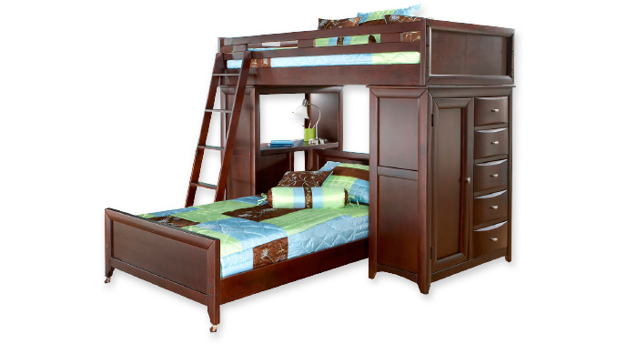Majestic loft beds for kids shop bunk bedrooms · bunk and loft bedrooms ohgutyi