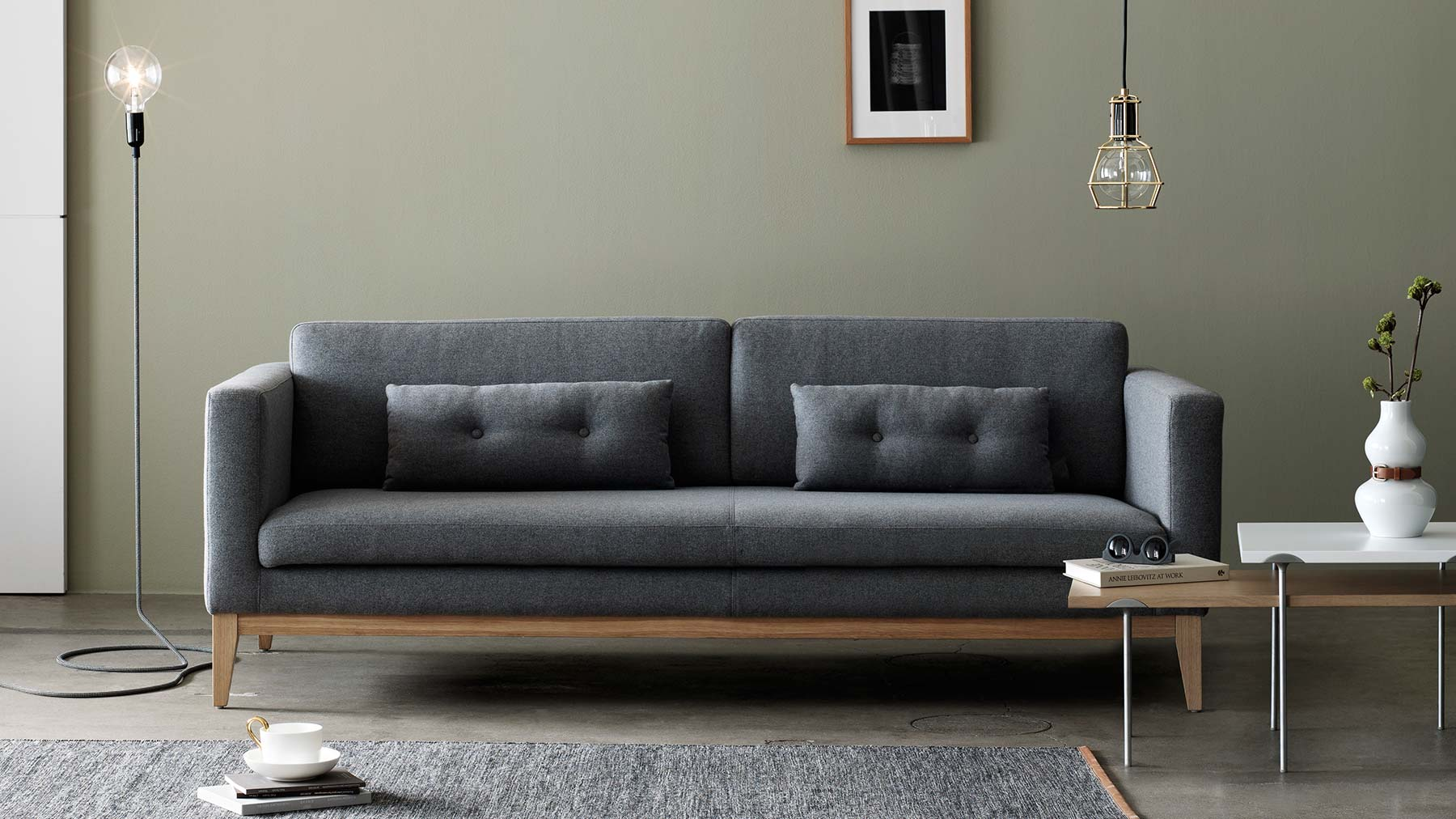 Majestic sofa design day sofa + cord lamp + work lamp + etage nest of tables vsmcxrr