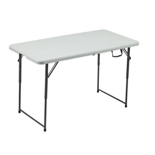 Master academy sports + outdoors 4 ft adjustable folding table - view number 1 sezuxic