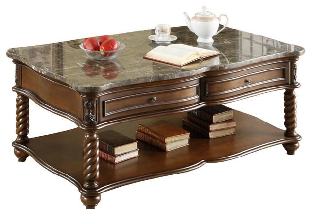 Master coffee table sets homelegance lockwood 3-piece rectangular coffee table set with marble top  traditional-coffee- eyjmsvh