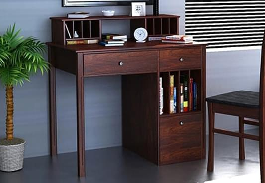 Master wooden study table with drawers hfynghx