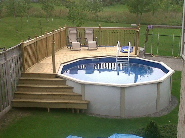 How to select above ground pool decks