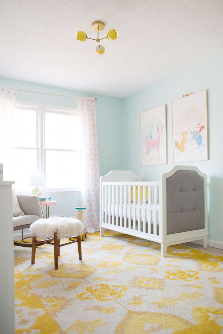 Modern baby room bright and airy nursery with the baby relax luna collection arnwwoa
