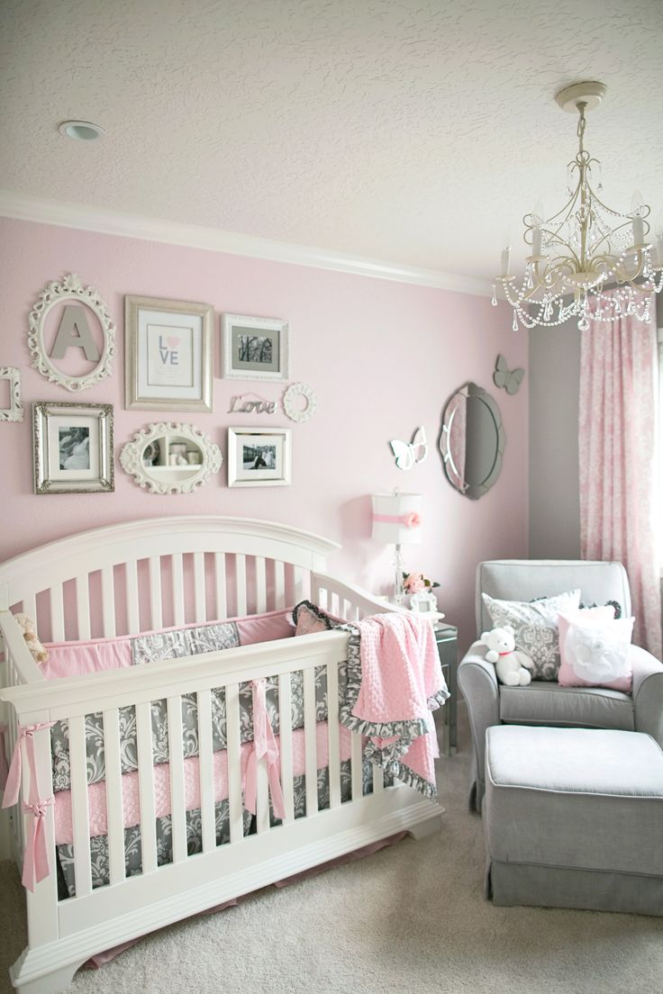 Modern baby room decor best 25+ baby girl rooms ideas on pinterest | baby bedroom, baby room htdronk